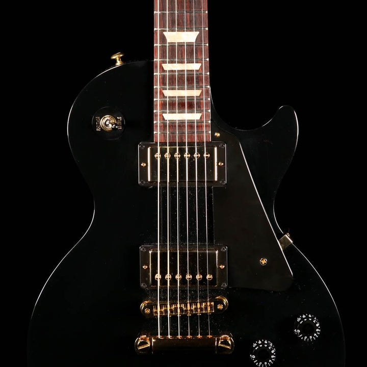 Gibson Les Paul Studio Black with Gold Hardware 2016 160039520