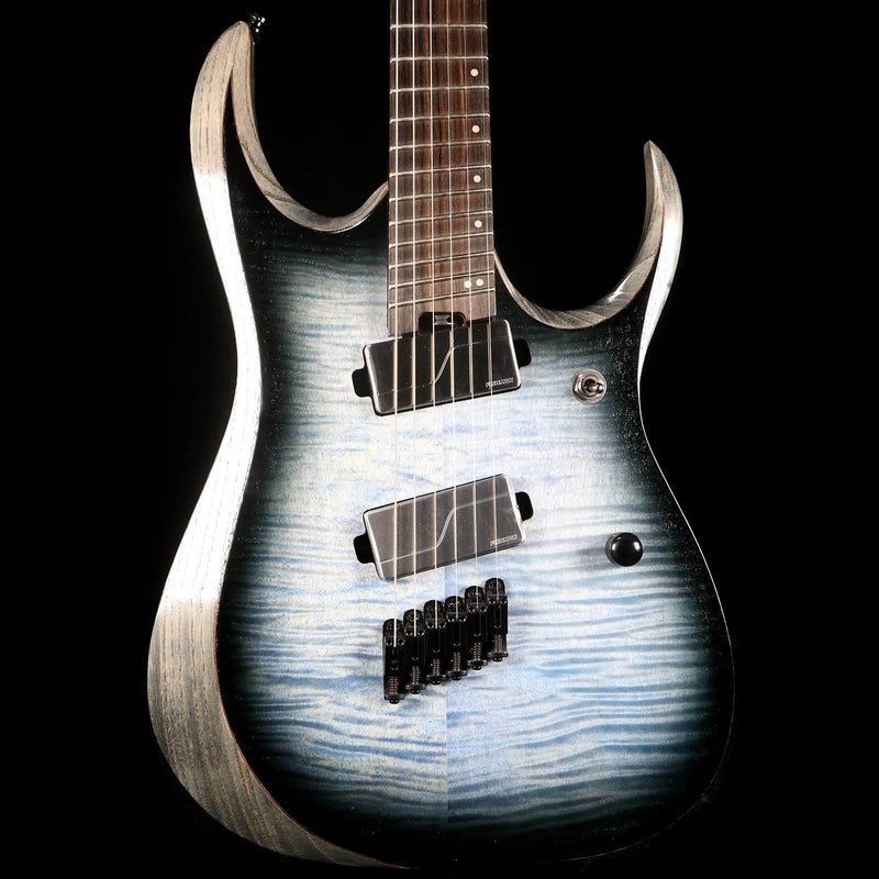 Ibanez RGD Axion Label Multi-Scale Cerulean Blue Burst 211P01I190110791