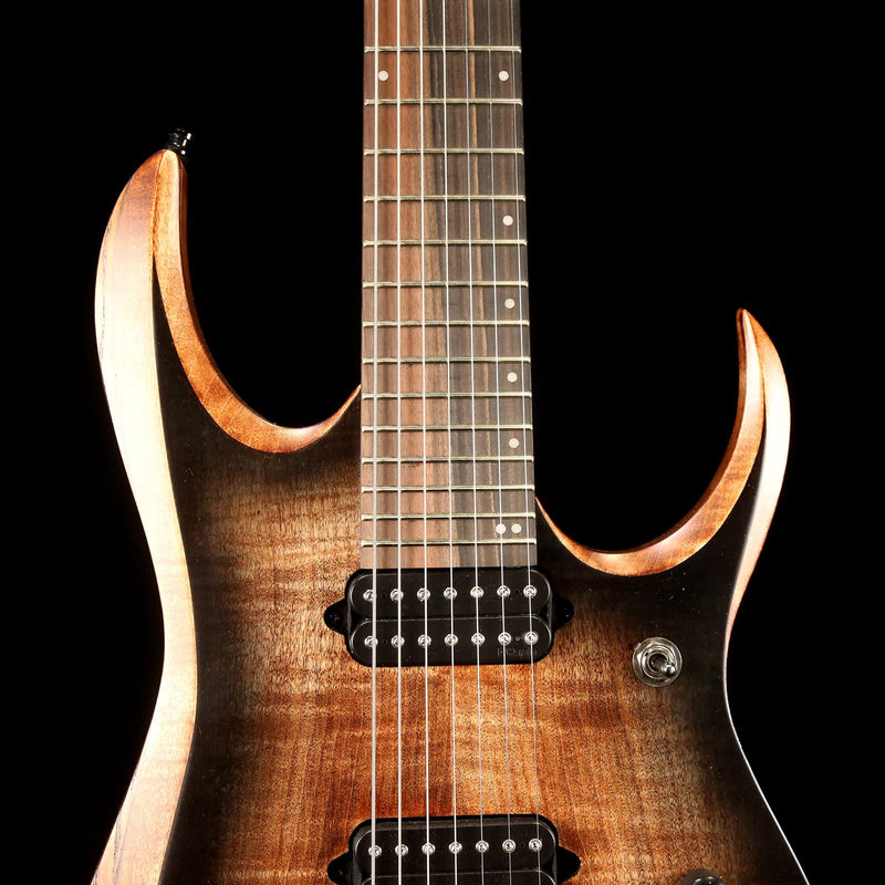 Ibanez RGD71AL RGD Axion Label 7-String Antique Brown Stained Burst 211P01I190219659