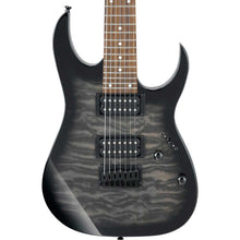 Ibanez GRG7221QA GIO RG 7-String Transparent Black Sunburst