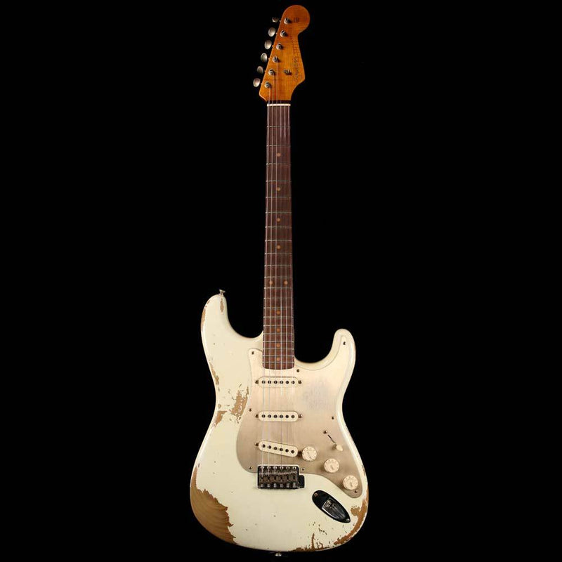 Fender Custom Shop '59 Stratocaster Aged Olympic White 2018 Limited Edition