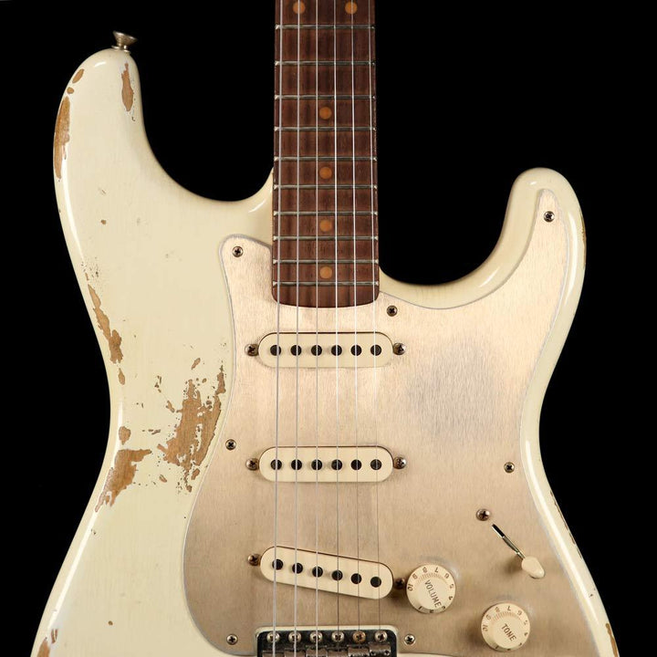 Fender Custom Shop '59 Stratocaster Aged Olympic White 2018 Limited Edition CZ533981