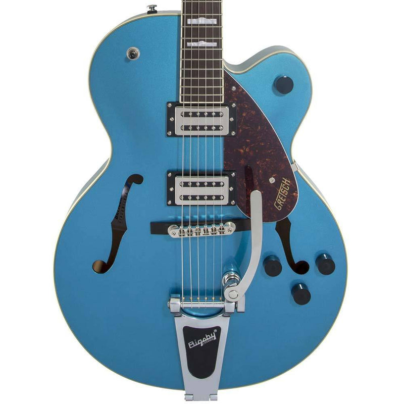 Gretsch G2420T Streamliner Hollow Body with Bigsby Broad'Tron BT-2S Pickups Riviera Blue 2804600502
