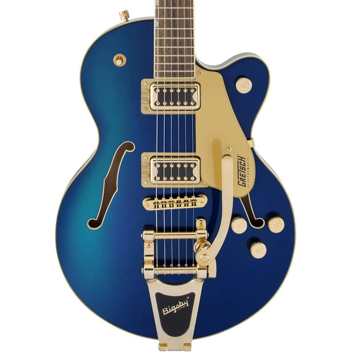 Gretsch G5655TG Electromatic Center Block Jr. Single-Cut with Bigsby Azure Metallic 2509700551