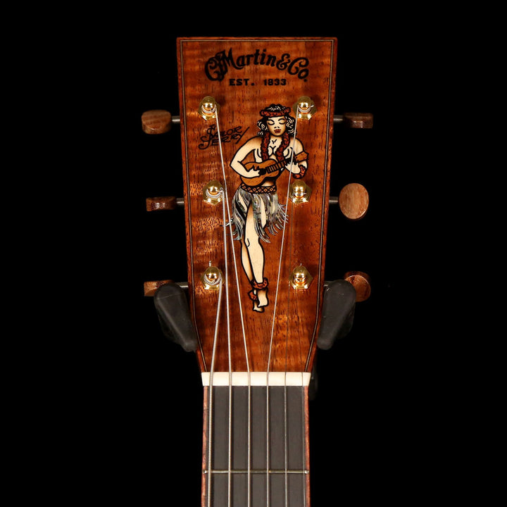 Martin Custom Shop D Homeward Bound Sailor Jerry Dreadnought Acoustic Natural 2251661