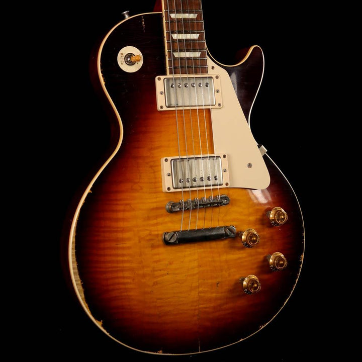 Gibson Custom Shop '59 Les Paul Murphy Ultra Aged Music Zoo Exclusive Faded Tobacco Burst 2014 941850