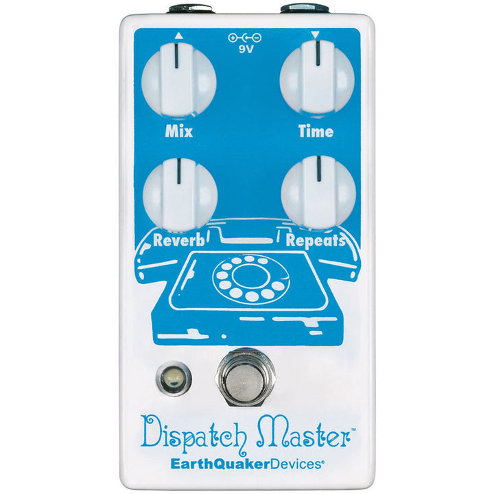 EarthQuaker Dispatch Master Delay/Reverb v3 Effects Pedal EQDDISPV3USA
