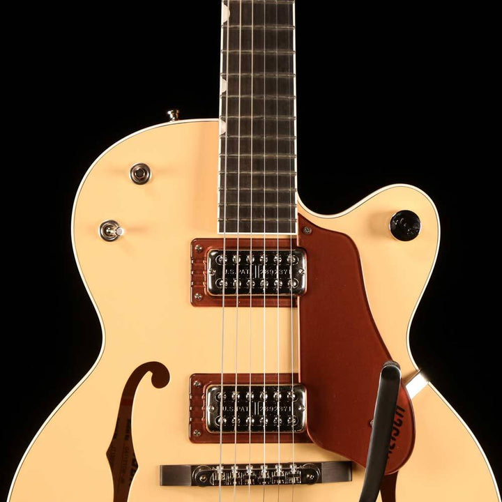 Gretsch G6112TCB-JR Center Block Junior 2-Tone Jaguar Tan and Copper Metallic 2016 JT16030984