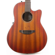 Ovation Main Street Balladeer Deep Contour Acoustic-Electric Mahogany Burst