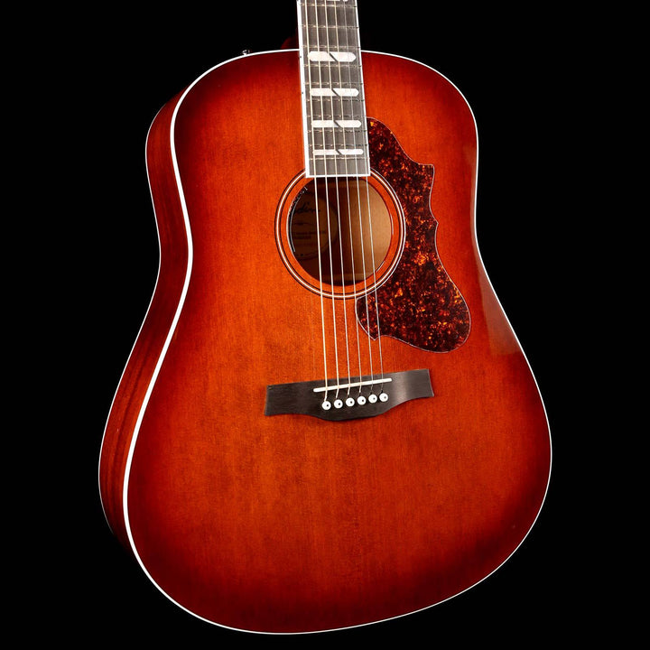 Godin Metropolis LTD HG EQ Acoustic-Electric Havana Burst 047918