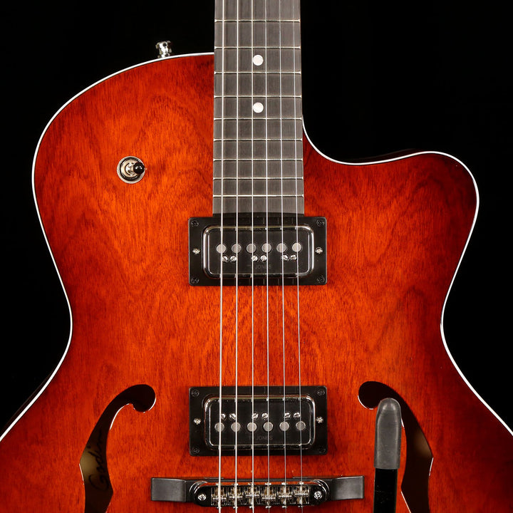 Godin 5th Ave Uptown T-Armond Havana Burst 047819