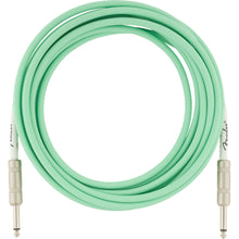 Fender Original Series Instrument Cable 15 Feet Surf Green
