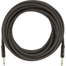 Fender Pro Series Instrument Cable 25 Feet Straight Gray Tweed