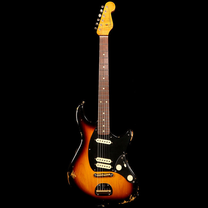Fender Custom Shop NAMM 2019 Display California Special Relic Masterbuilt Ron Thorn 2-Tone Sunburst RT0174