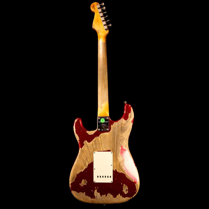 Fender Custom Shop NAMM 2019 Display Limited Edition 63 Stratocaster Super Heavy Relic Aged Red