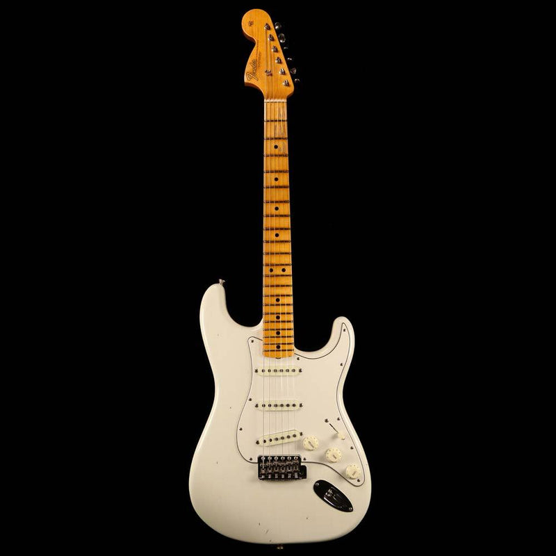 Fender Custom Shop Jimi Hendrix Voodoo Child Stratocaster Journeyman Relic Olympic White 2018 vc0235