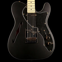 Fender LTD Deluxe Telecaster Thinline Satin Black with Gold Hardware