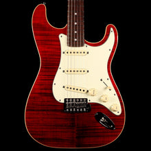 Fender Limited Edition Aerodyne Classic Stratocaster Flame Maple Top Crimson Red Transparent