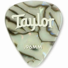 Taylor Celluloid 351 Guitar Picks Abalone .96mm 12-Pack