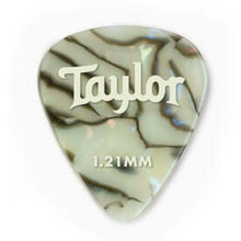 Taylor Celluloid 351 Guitar Picks Abalone 1.21mm 12-Pack