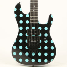 Kramer Nightswan Black with Blue Polka Dots