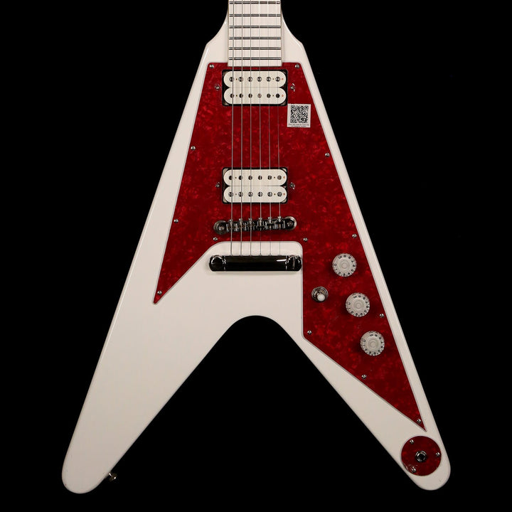 Epiphone Dave Rude Flying V Outfit Alpine White EVDRAWCH1