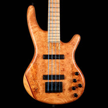 Adler Custom 4-String Bass Burl Maple Top Natural