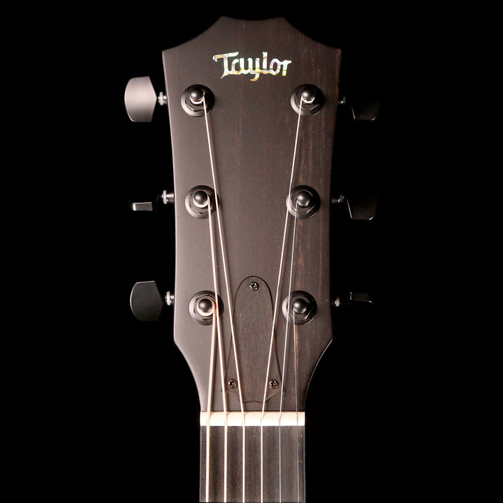 Taylor Custom Shop Custom Grand Concert 12-Fret Blackwood Satin Charcoal Black 1102199146