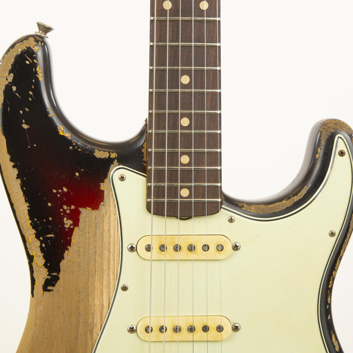 Fender Custom Shop '62 Stratocaster Ultimate Relic Masterbuilt Jason Smith Music Zoo 25th Anniversary Edition 1OF5