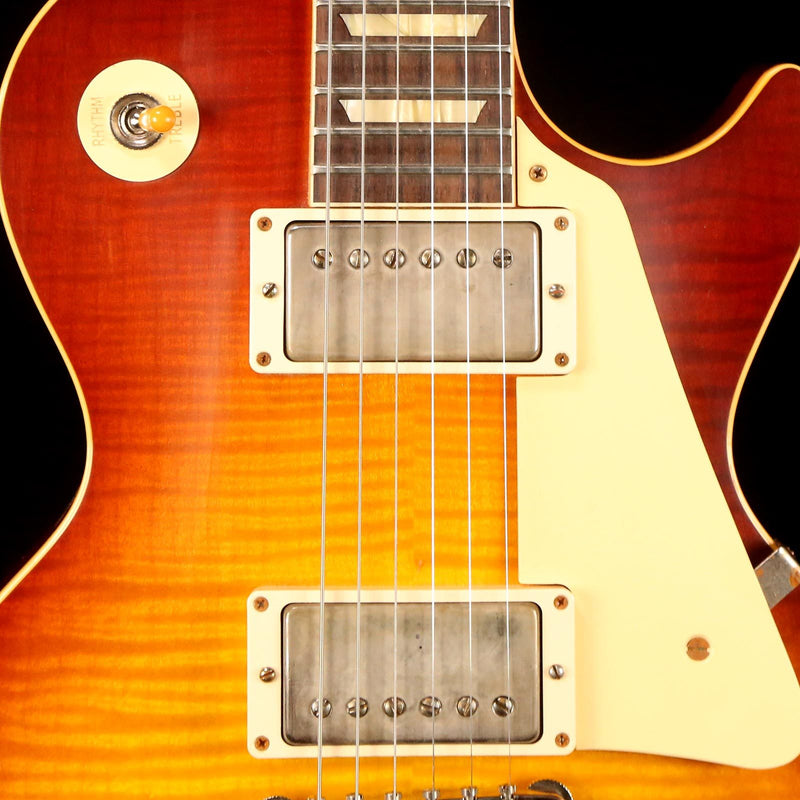 Gibson Custom Shop 60th Anniversary 1959 Les Paul Standard VOS Orange Sunset Fade 991017