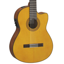 Yamaha CGX122MCC Classical Guitar Natural