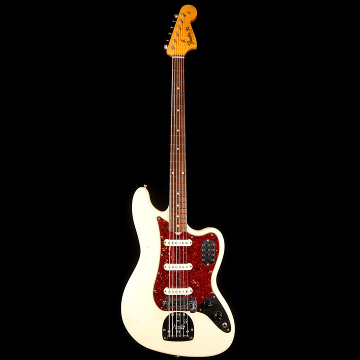 Fender Custom Shop  Bass VI Time Machine Series Aged Olympic White Journeyman Relic 2018 CZ533240