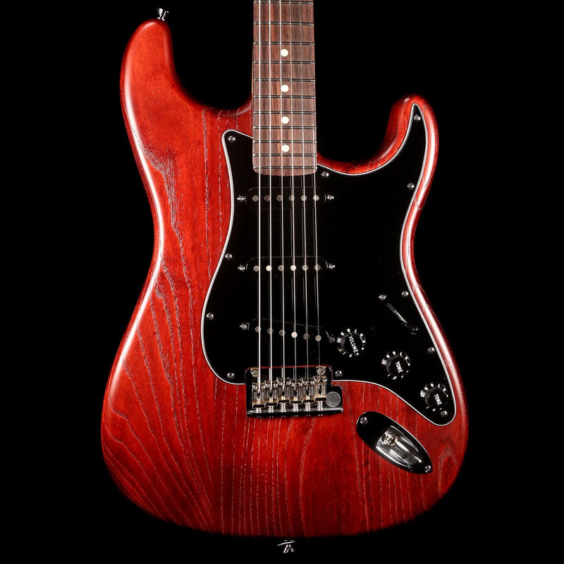 Fender American Standard Hand Stained Ash Stratocaster Wine Red 2012 US11305209