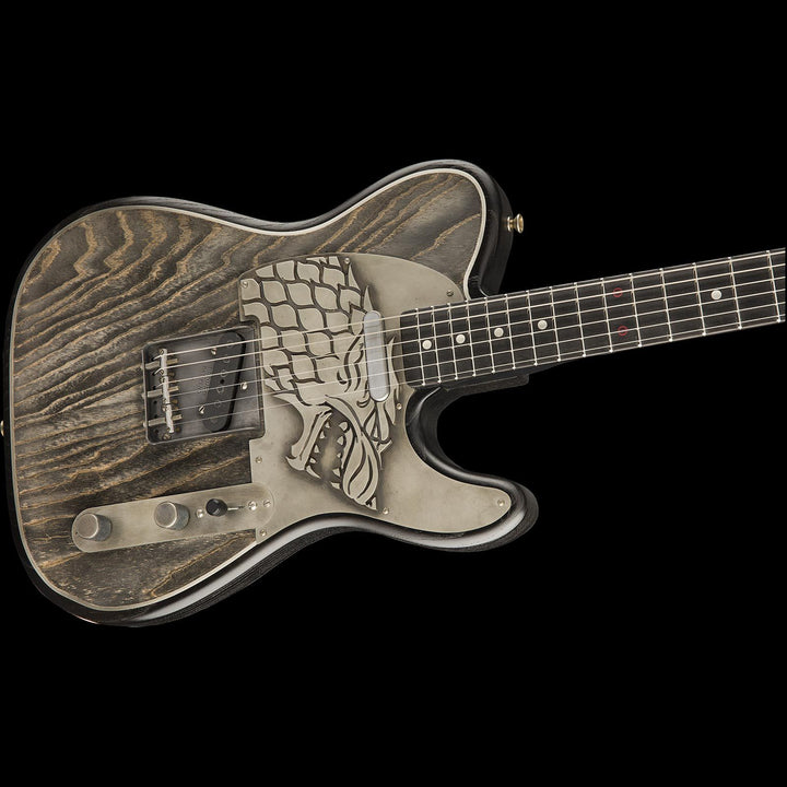 fender custom shop more about game of thrones house stark telecaster m the music zoo. Black Bedroom Furniture Sets. Home Design Ideas