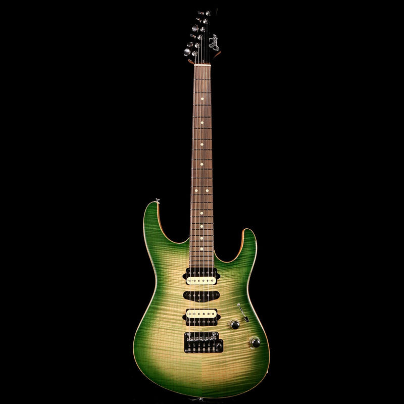 Suhr Standard Faded Trans Green Burst 2016 29849