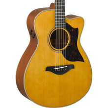 Yamaha AC3M Cutaway Concert Acoustic-Electric Vintage Natural