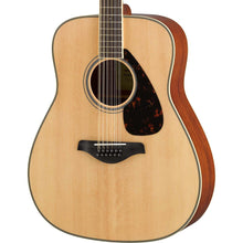 Yamaha FG820-12 Dreadnought Acoustic 12-String Natural Used