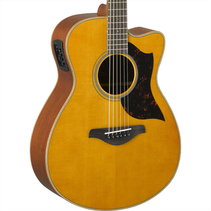 Yamaha AC1M VN Concert Cutaway Acoustic-Electric Vintage Natural AC1M VN