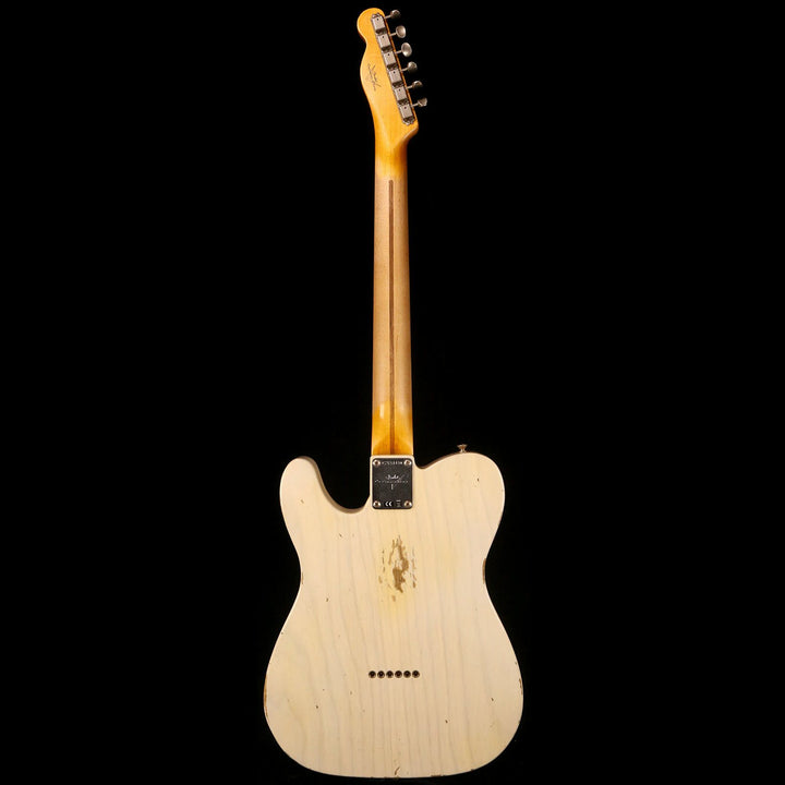 Fender Custom Shop 1954 Telecaster Relic Aged White Blonde 2018 CZ534430