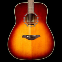 Yamaha FG-TA Transacoustic Acoustic-Electric Brown Sunburst