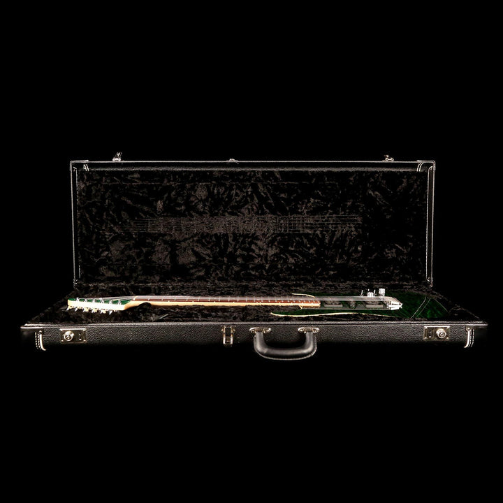 Tom Anderson Hollow Drop Top Trans Forest Green 2009 082109N