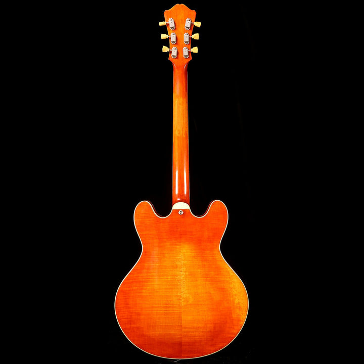 Eastman T59/v Thinline Archtop Antique Amber 15750049