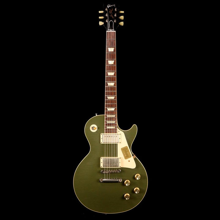 Gibson Custom Shop 1957 Les Paul Reissue Aged Olive 2014 74909