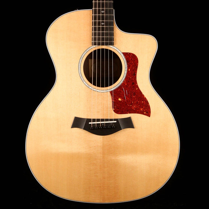 Taylor 214ce DLX Grand Auditorium Acoustic-Electric Natural 2018 2105108337