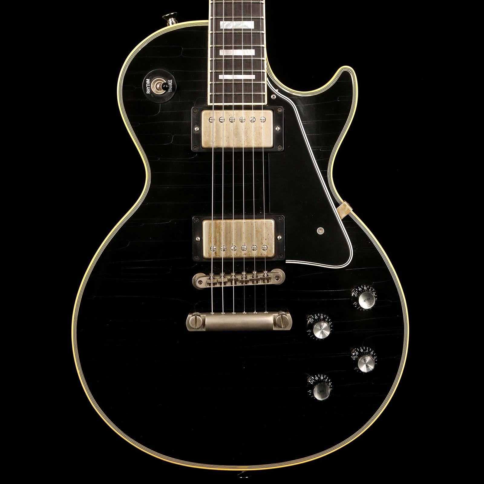 Gibson Custom Shop 1968 Les Paul Custom Authentic Ebony #23458