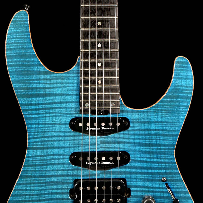 ESP USA M-III See-Thru Blue 2016 US16037