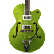 Gretsch G6120T-HR Brian Setzer Signature Hot Rod Hollow Body Extreme Coolant Green Sparkle
