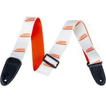 Gretsch Vibrato Arm Pattern Strap White/Orange