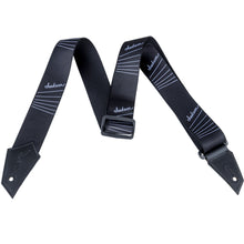 Jackson Strap with String Pattern Black and White