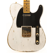 Fender Custom Shop 1956 Telecaster Heavy Relic White Blonde with Gold Hardware